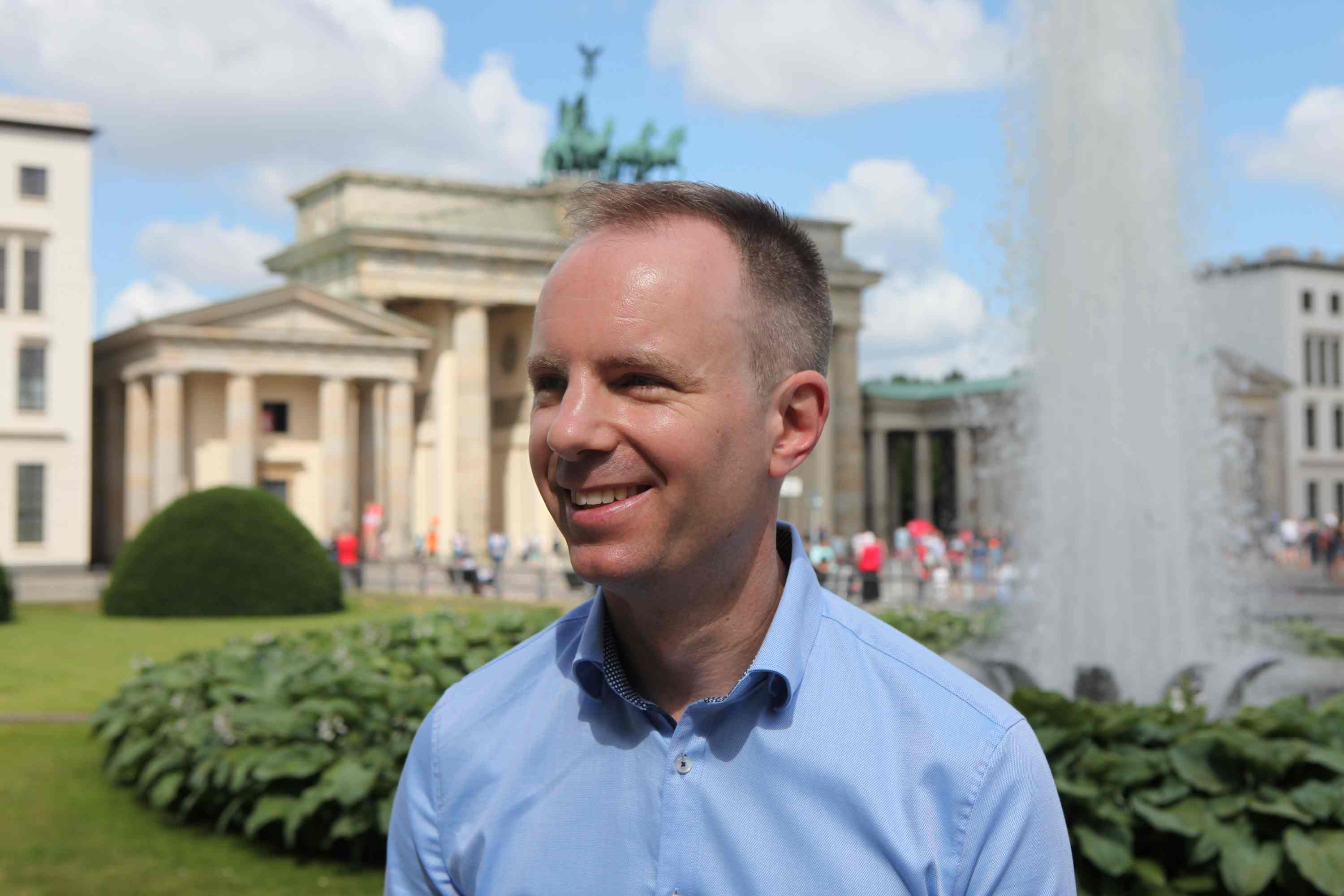 Christopher Chandler: Business English Trainer in Berlin, Business Englisch