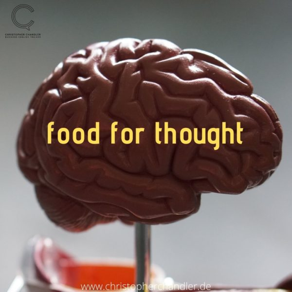 food for thought idiom